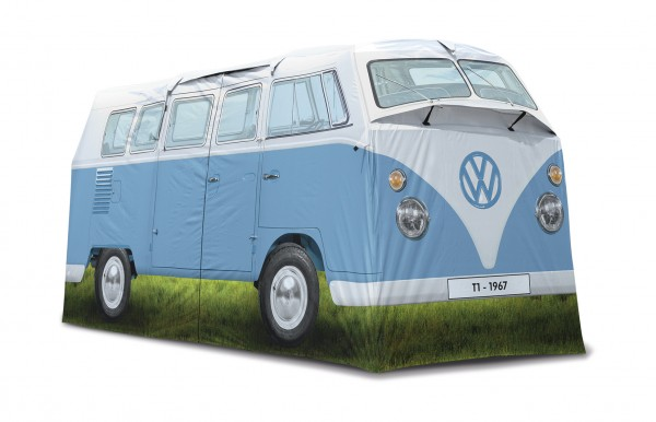 VW T1 Bus Campingzelt (4 Pers.) - blau