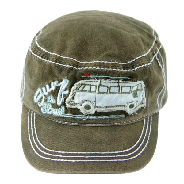 VW T1 Bus Military Cap - oliv