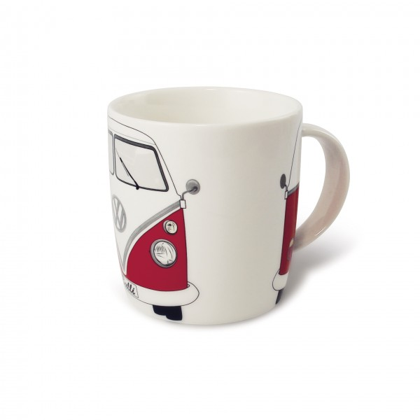 VW T1 Bus Kaffeetasse 370ml - rot