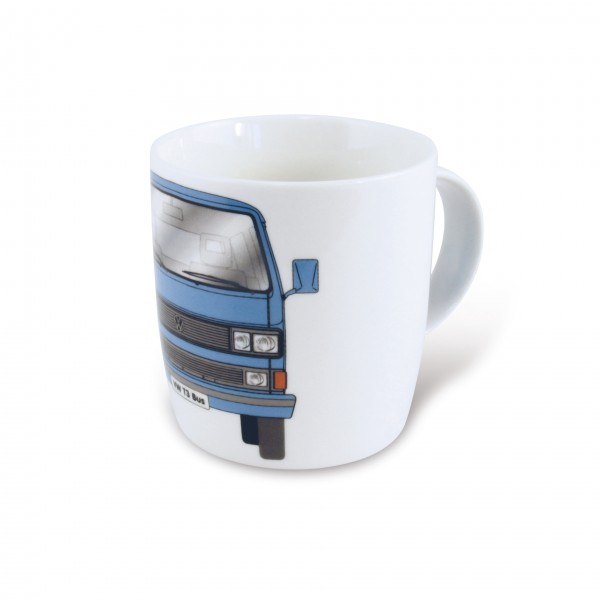 VW T3 Bulli Bus Kaffeetasse 370ml - blau