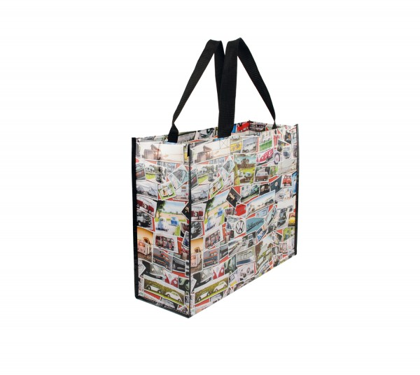 VW T1 Bulli Bus Shopper Tasche - Briefmarke