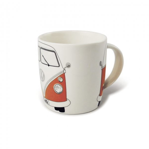 VW T1 Bus Kaffeetasse 370ml - orange