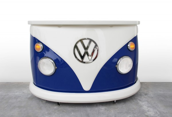 VW T1 Bus Bulli Bar - Front/blau