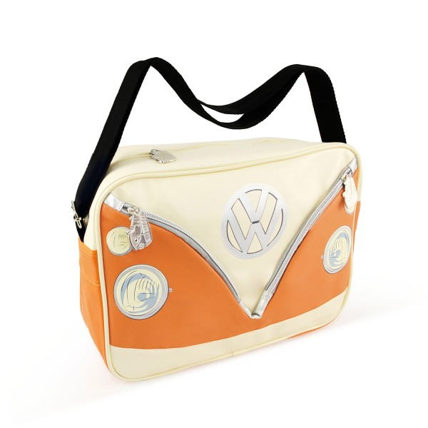 0bc8c32c19 VW T1 Bus Shoulder Bag Landscape - orange