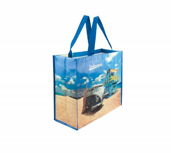 VW T1 Bus Shopper Tasche - Beach Life