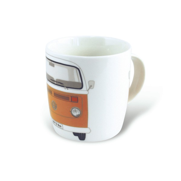 VW T2 Bus Kaffeetasse 370ml - orange