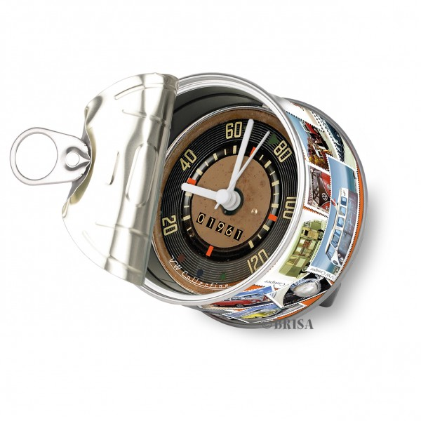 VW T1 Bulli Bus Myclock - Briefmarken