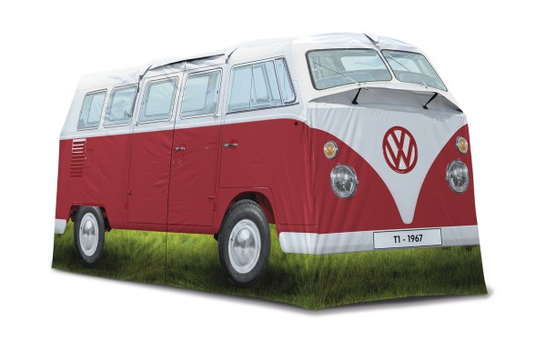 VW T1 Bus Campingzelt (4 Pers.) - rot